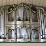 Orgelprospekt der Kirche St. Burkhard in Hohenfelden
