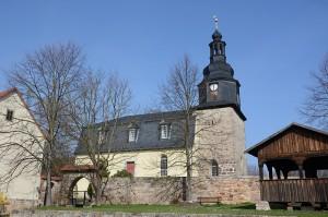 Kirche Hohenfelden von Süden
