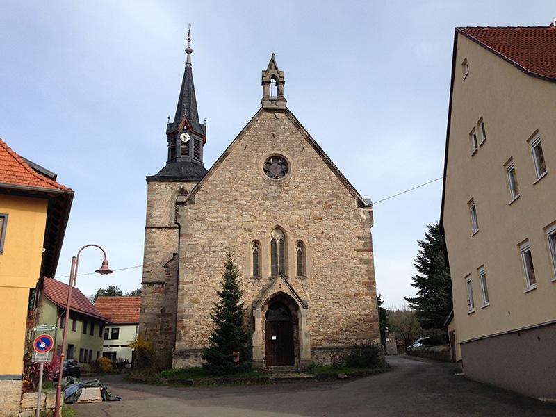 Kirche St. Michaelis zu Kranichfeld, Westansiche