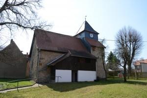 Kirche Stedten (Ilm) von Norden